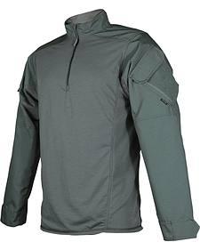 Tru-Spec Men's Olive Urban Force TRU 1/4 Zip Combat Shirt