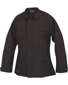 Tru-Spec Men's Black BDU Coat
