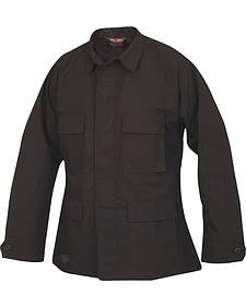 Tru-Spec Men's Black BDU Coat