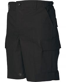 Tru-Spec Men's Black BDU Shorts