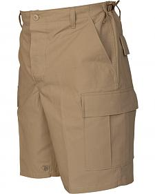 Tru-Spec Men's Khaki BDU Shorts