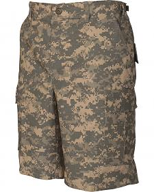 Tru-Spec Men's All-Terrain Digital Camo BDU Shorts