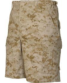 Tru-Spec Men's Desert Digital Camo BDU Shorts