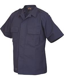 Tru-Spec Men's Navy Short Sleeve Tactical Shirt