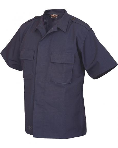 Tru-Spec Men's Navy Short Sleeve Tactical Shirt