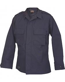 Tru-Spec Men's Navy Long Sleeve Tactical Shirt