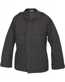 Tru-Spec Men's Black Long Sleeve Tactical Shirt