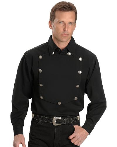 Rangewear by Scully Frontier Engineer Shirt $56.99 AT vintagedancer.com