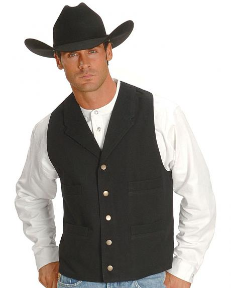 Rangewear by Scully Frontier Canvas Vest