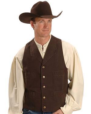 Rangewear by Scully Walnut Frontier Vest