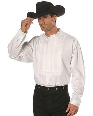 Rangewear by Scully White Gambler Shirt $51.99 AT vintagedancer.com