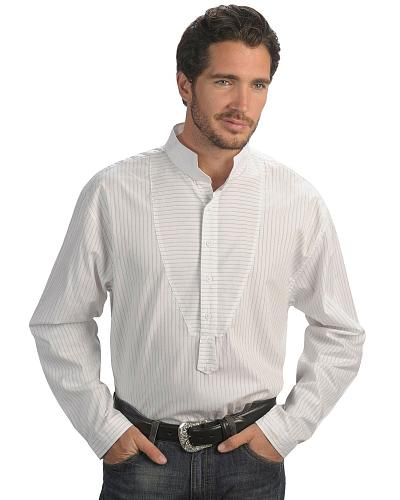 Rangewear by Scully Frontier Stripe Long Sleeve Shirt $52.99 AT vintagedancer.com