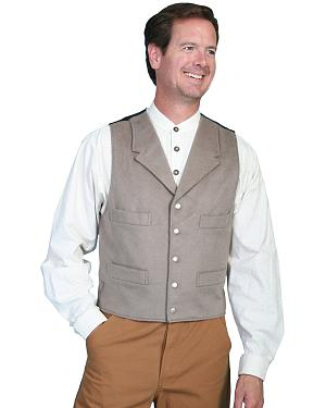 Wahmaker by Scully 4-Pocket Wool Vest