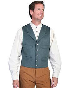 Wahmaker by Scully 4-Pocket Wool Vest