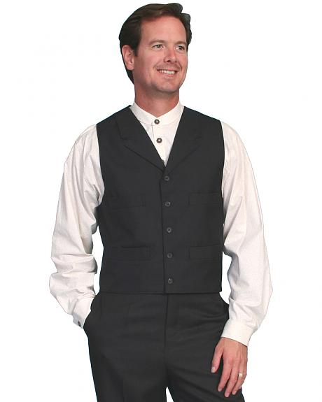 Wahmaker by Scully Classic Black Vest