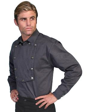 Wahmaker by Scully Brushed Twill Bib Shirt
