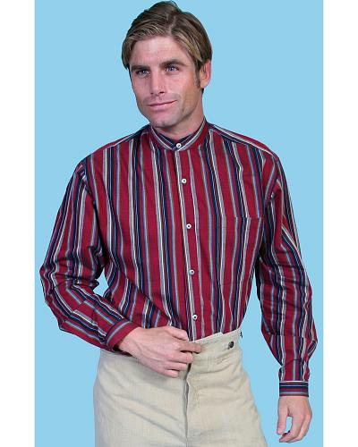 Wahmaker by Scully Striped Frontier Shirt