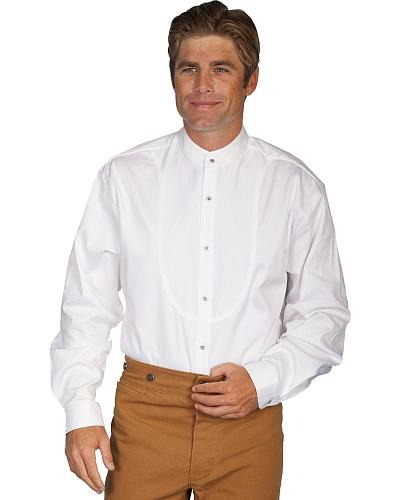 Wahmaker by Scully Long Sleeve Frontier Shirt $83.99 AT vintagedancer.com