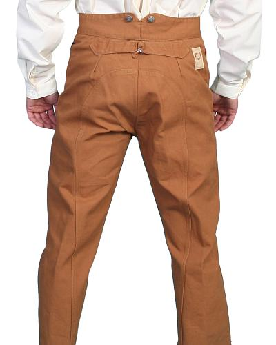 Wahmaker by Scully Canvas Saddle Seat Pants $88.99 AT vintagedancer.com