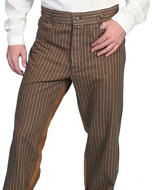 Wahmaker by Scully Cotton Saddle Cut Stripe Pants