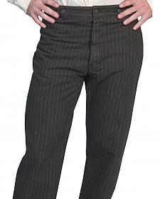 Wahmaker by Scully Cotton Saddle Cut Stripe Pants