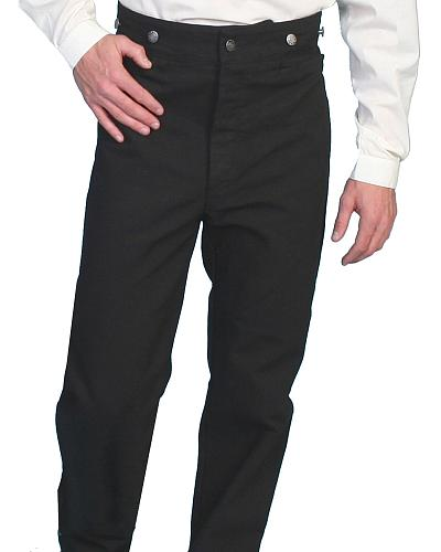 Wahmaker by Scully Canvas Pants - Tall $80.00 AT vintagedancer.com