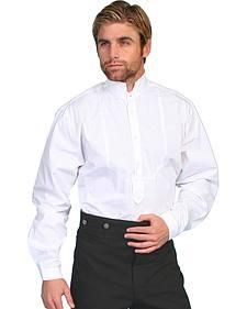 Wahmaker by Scully High Collar Long Sleeve Shirt - Big & Tall