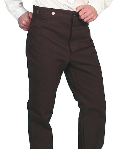 Rangewear by Scully Canvas Pants - Tall $55.99 AT vintagedancer.com