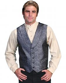 Rangewear by Scully Paisley Print Round Collar Vest