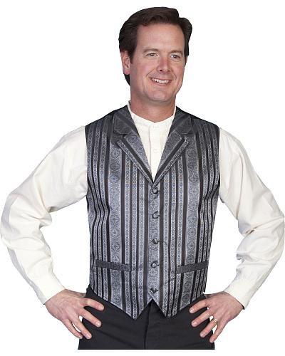 Rangewear by Scully Waverly Vest Western & Country RW167 BLK