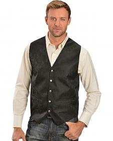 Gibson Paisley Vest Black