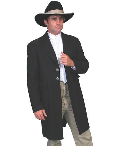 WahMaker Old West by Scully Dragon Lining Frock Coat $306.99 AT vintagedancer.com