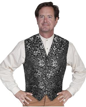 WahMaker Old West by Scully Classic Dragon Vest $90.99 AT vintagedancer.com