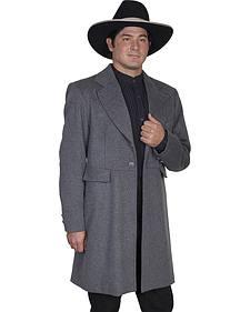 WahMaker Old West by Scully Wool Blend Frock Coat