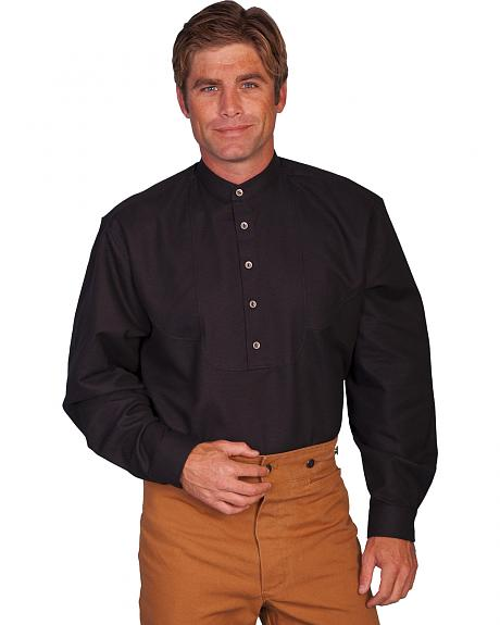 Wahmaker Old West by Scully Scallop Front Shirt