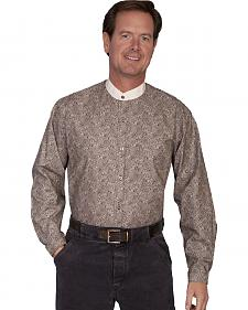 WahMaker Old West by Scully Dancing Paisley Shirt