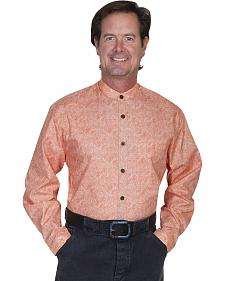 WahMaker by Scully Full Button Front Paisley Shirt