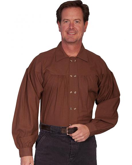 Rangewear by Scully Old West Style Double Button Placket Shirt - Big Sizes (3XL