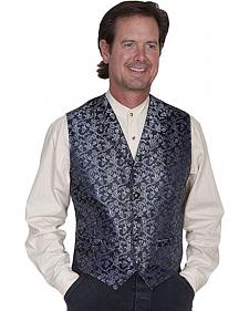 Rangewear by Scully Vine Print Vest - Big Sizes (3XL - 4XL)