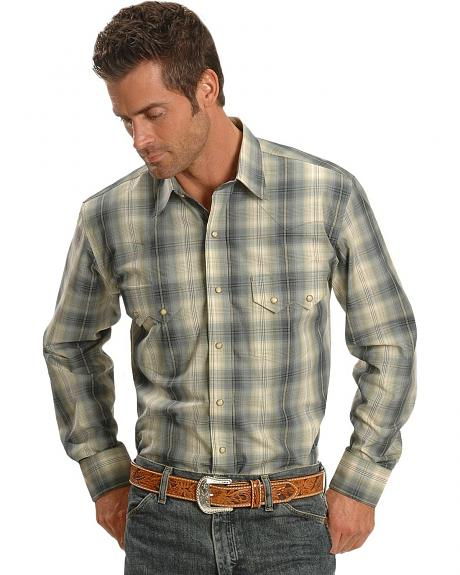 Exclusive Gibson Trading Company Plaid Western Shirt