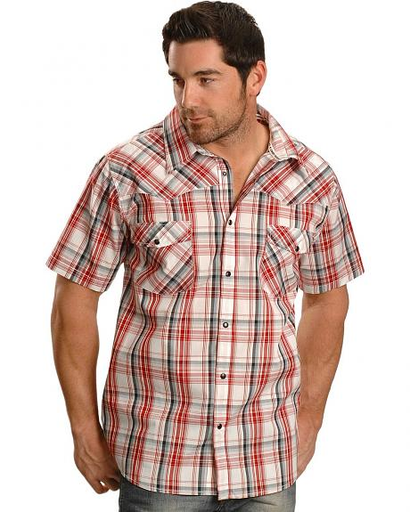 Cowboy Hardware Bold Plaid Western Shirt