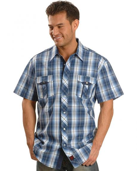 Panhandle Slim 90 Proof Plaid Western Shirt