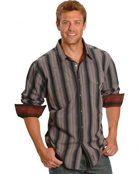 Wrangler Retro Dobby Stripe Shirt