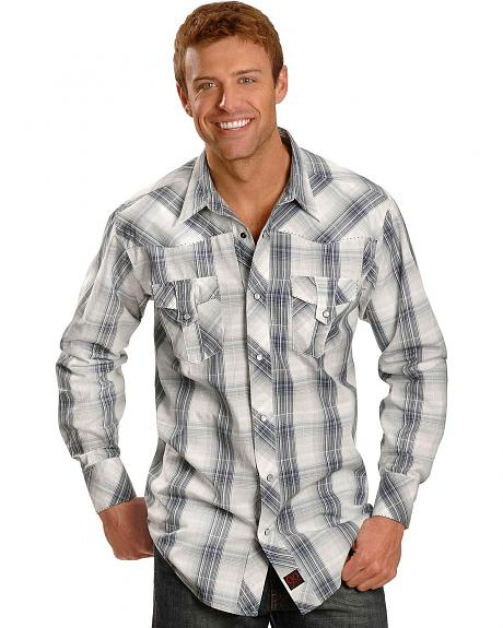 Panhandle Slim 90 Proof Dobby Plaid Shirt