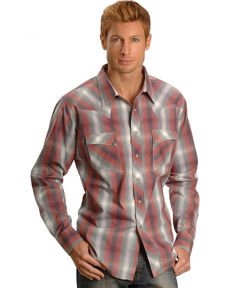 Wrangler Fashion Ombre Snap Shirt