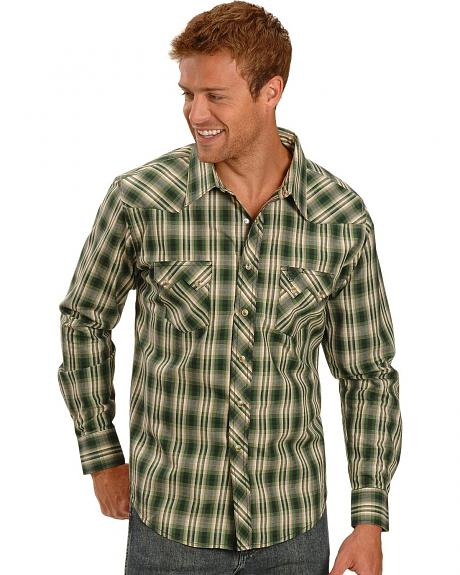 Wrangler Plaid Snap Shirt