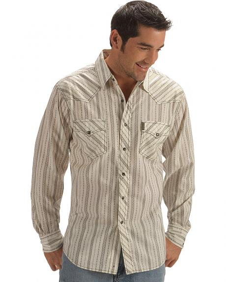 Cinch �  Multi-Striped Slim Fit Western Snap Shirt