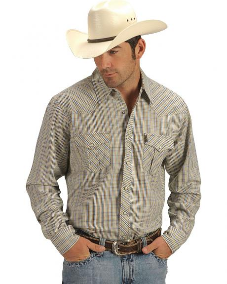 Cinch �  Multi-Stripe Slim Fit Western Snap Shirt