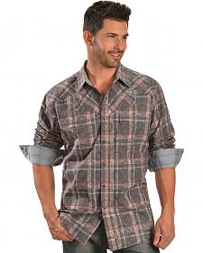 Wrangler Retro Plaid Overprint Western Shirt