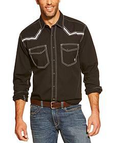 Ariat Men's Retro Clint Long Sleeve Snap Western Shirt